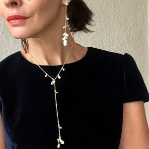 KENDRA SCOTT Quincy necklace in GOLD